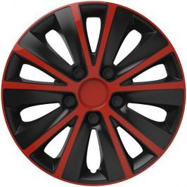 Versaco Poklice RAPIDE Red/Black sada 4ks 13
