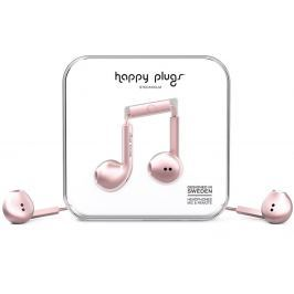 Happy Plugs Earbud Plus Pink Gold Deluxe Edition
